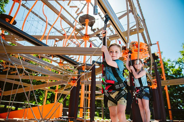 Ropes courses at Shepherd of the Hills include offerings for adults and for kids.  (Courtesy Photo/Shepherd of the Hills)