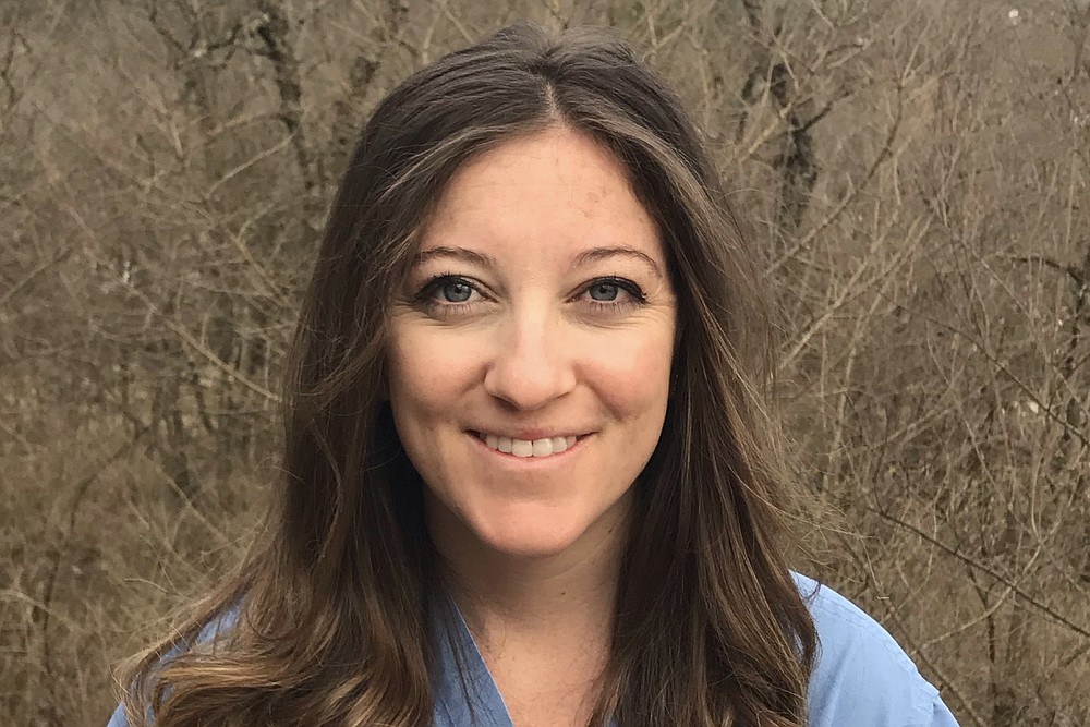 """Samantha Crouch, a certified nurse-midwife with Creekside Center for Women in Springdale, says the stateճ new midwife law will allow certified nurse-midwives to """"practice the full extent of our education."""" (Photo courtesy of Samantha Crouch)"""