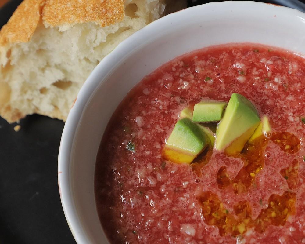 Watermelon Gazpacho (Democrat-Gazette file photo)