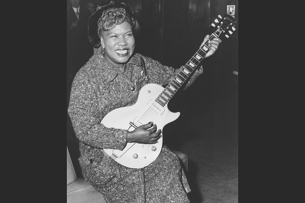 Sister Rosetta Tharpe in 1957. (AP file photo)