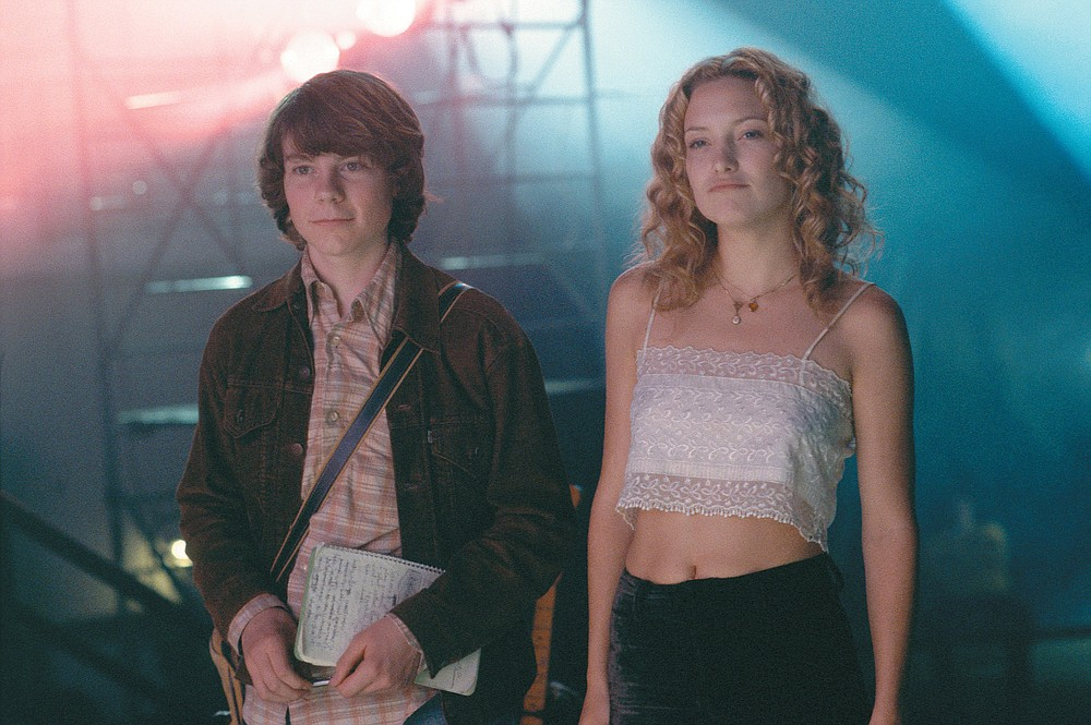 """Patrick Fugit and Kate Hudson star in """"Almost Famous."""""""