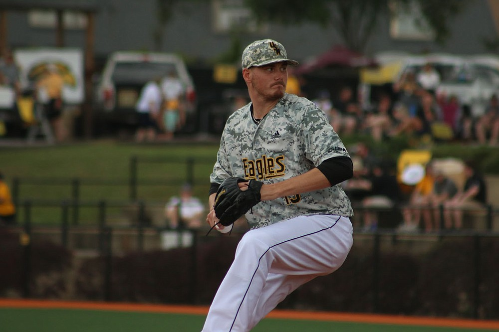 Former Fayetteville High School and Southern Mississippi star Walker Powell agreed to terms with the Chicago Cubs as a free agent. Powell finished with 30 career wins at Southern Miss, which places him second in school history. (Photo submitted/Southern Mississippi Athletics).