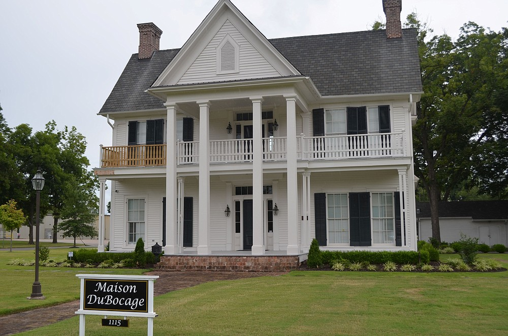 The 1866 Greek Revival Maison Du Bocage stands at 1115 W. Fourth Ave. at Pine Bluff. Added to the National Register of Historic Places in 1974, it was the home of prominent businessman Joseph William Bocage, one of only two men to defeat Hercules King Cannon White in his bids for Pine Bluff mayor. (Special to The Commercial/Richard Ledbetter)