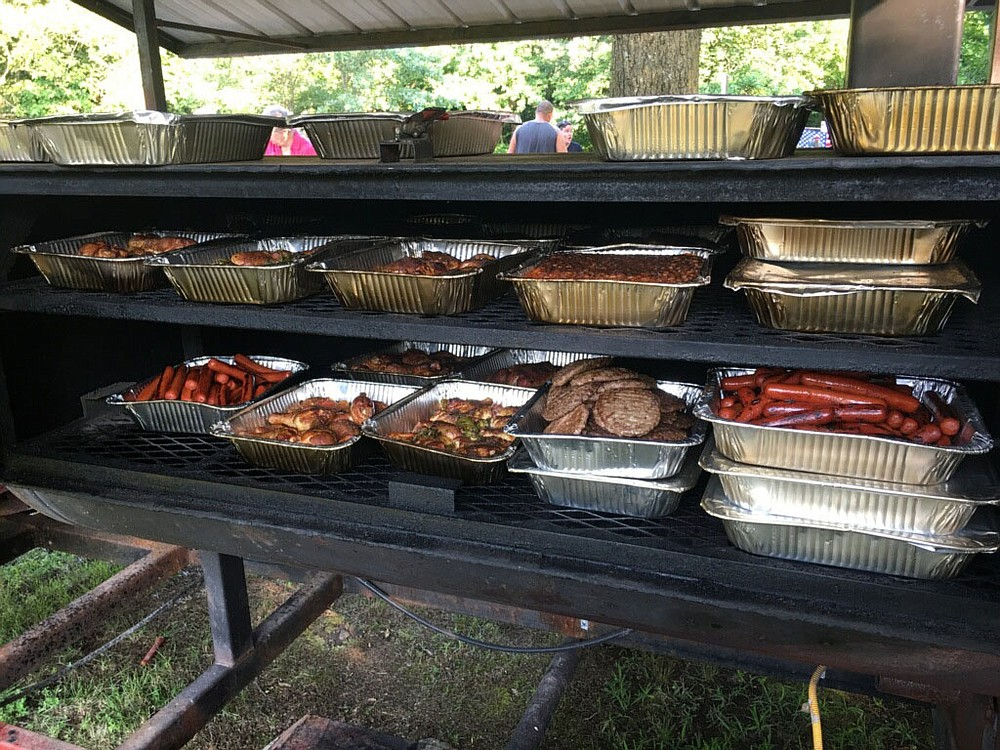 COURTESY PHOTO Photo from previous Unchained Summer Concert showing some of the food to be served to concert attendees. All meals at the concert are completely free, dinner is always served at 6:30 p.m.