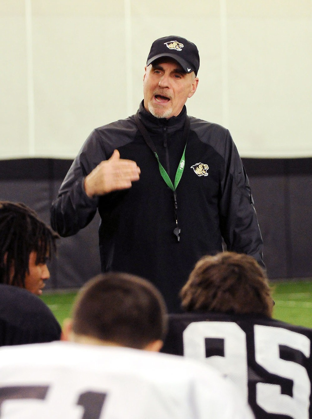 Barry Lunney, who served as Bentonville's football coach from 2005-14, is one of seven people who will be inducted to the Bentonville High School Athletic Hall of Honor in October. Lunney directed the Tigers to a 97-25 record and four state championships, including his final game as Bentonville beat Fayetteville 24-21 in the 2014 Class 7A state championship game.