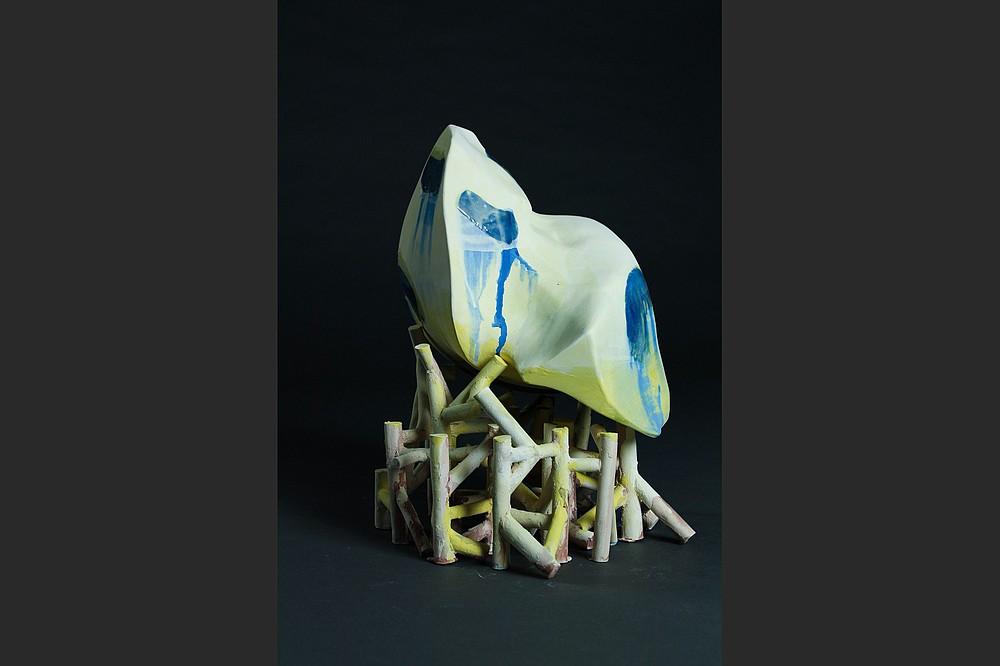 La escultura de cerámica de Yelena Petroukhina
