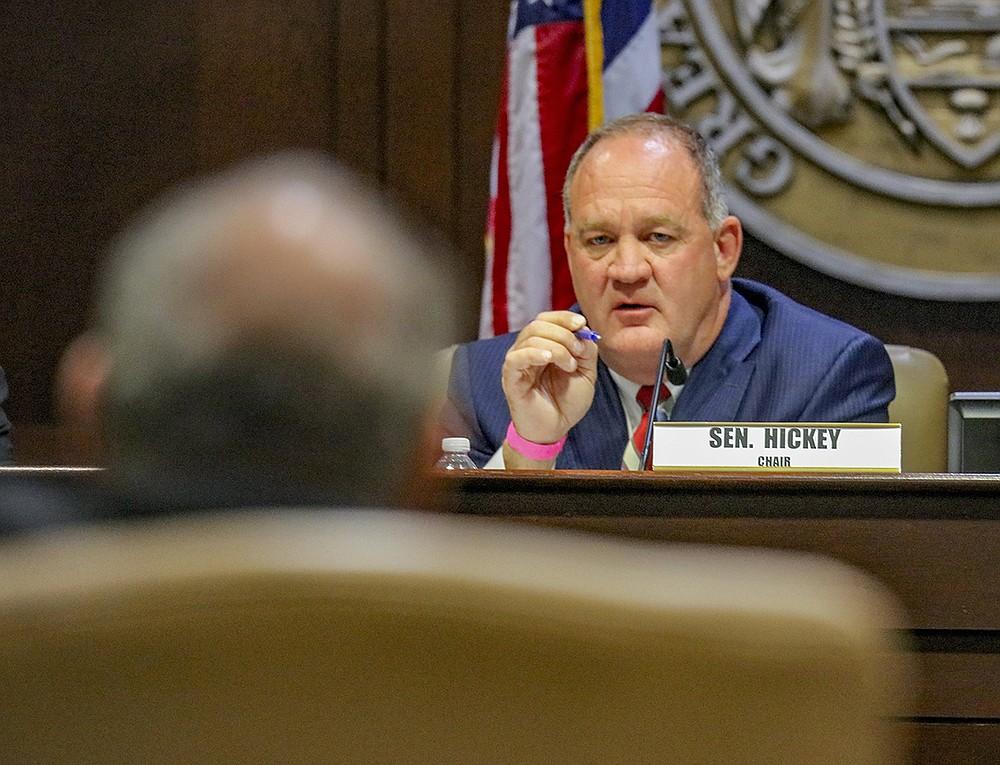 Senator Jimmy Hickey, Jr (R), is shown in this file photo. (Arkansas Democrat-Gazette/JOHN SYKES)