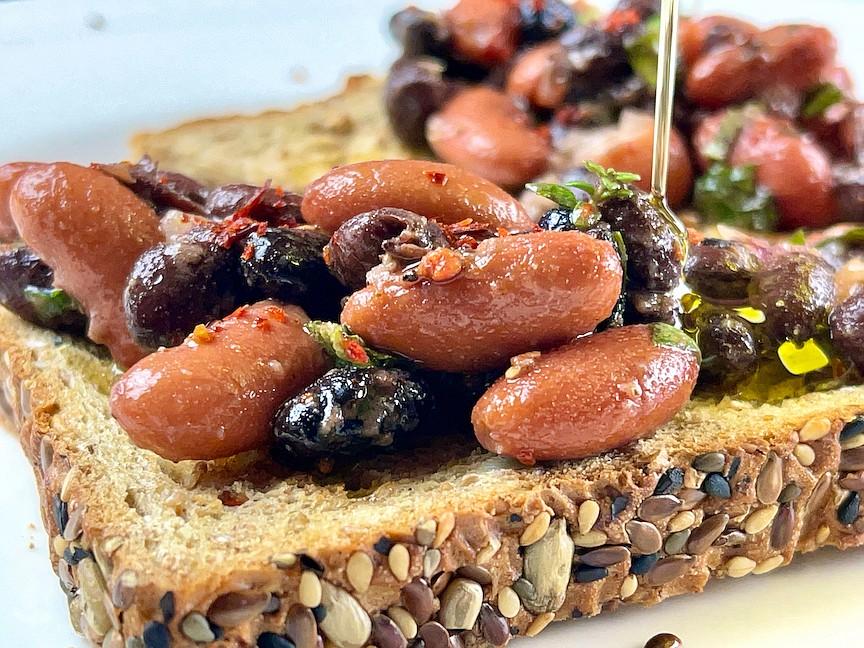 Marinated Beans (Arkansas Democrat-Gazette/Kelly Brant)