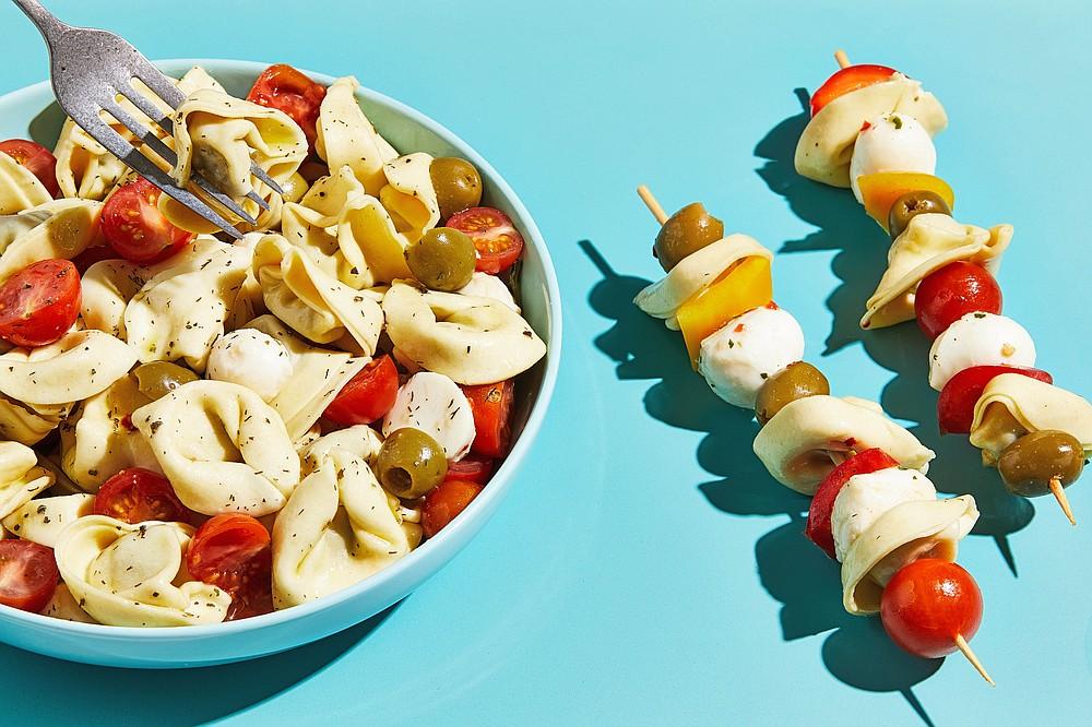 Pasta Salad Kebab (For The Washington Post/Tom McCorkle)
