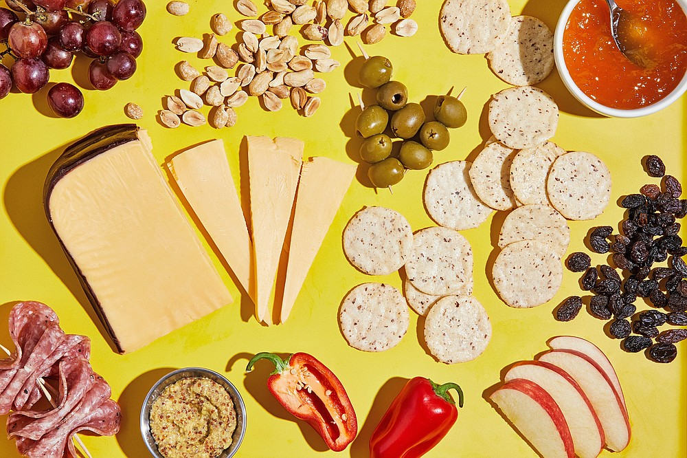 Lunchbox Charcuterie (For The Washington Post/Tom McCorkle)