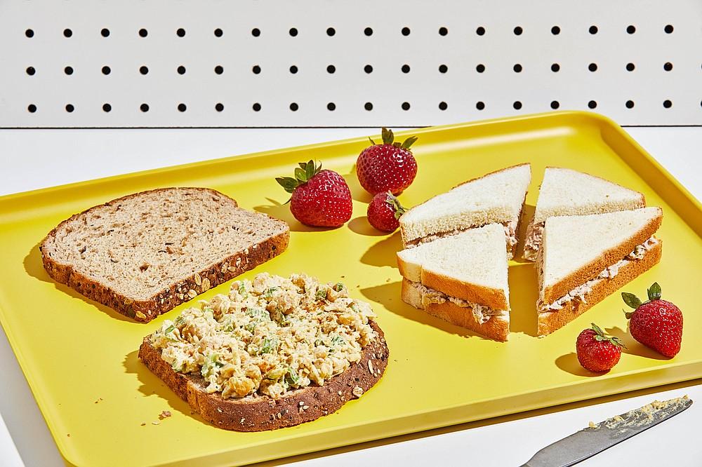 Deli Salad Sandwich 3 Ways (For The Washington Post/Tom McCorkle)