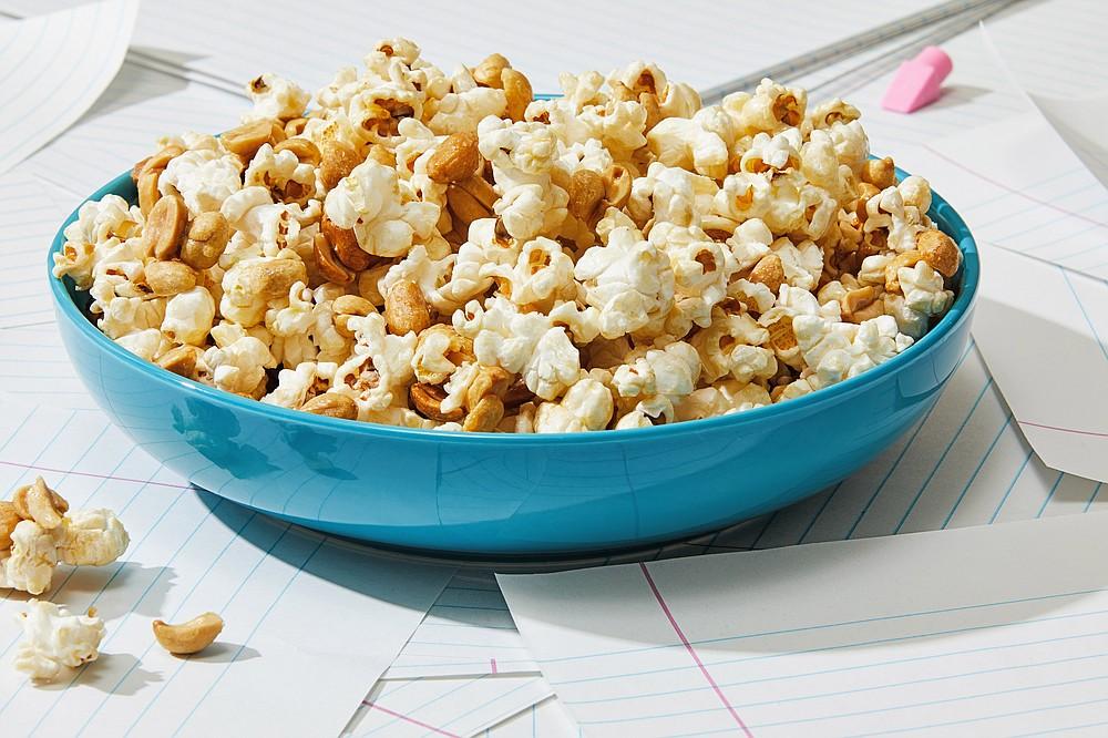 Maple Peanuts and Popcorn (For The Washington Post/Tom McCorkle)