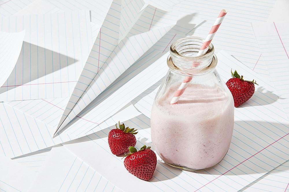 Strawberry Milk (For The Washington Post/Tom McCorkle)