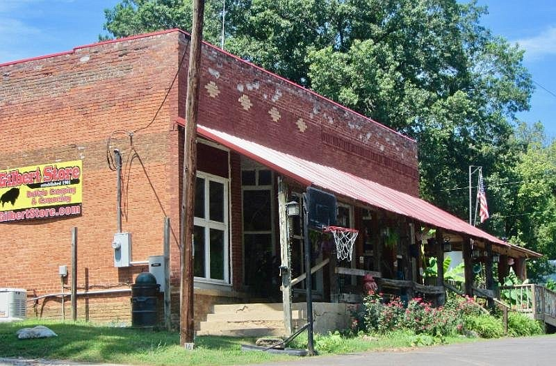 Gilbert General Store stays in business in a town of 28 residents. (Special to the Democrat-Gazette/Marcia Schnedler)