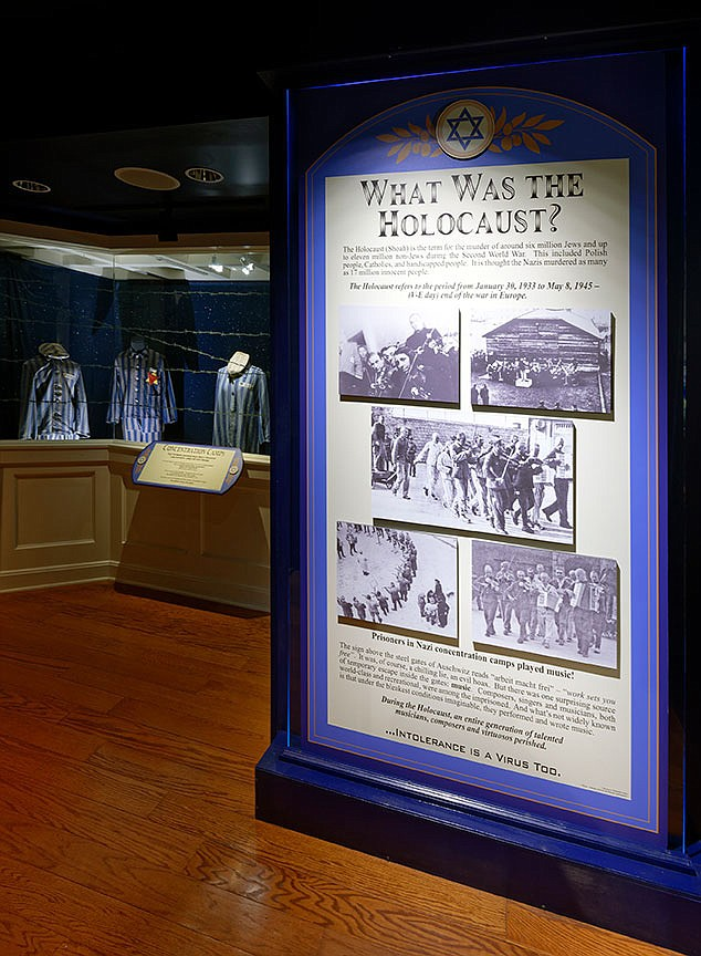 """The Titanic Museum Attraction has taken the opportunity to explore the Holocaust through its connections to the 1912 ocean liner's demise. A nationwide survey in 2020 showed 1 in 10 respondents did not recall ever having heard the word """"Holocaust"""" before.  (Courtesy Photo)"""