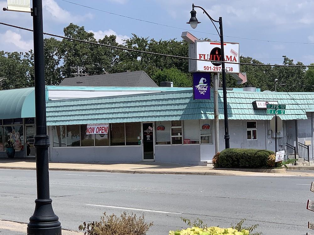 Fujiyama Sushi & Hibachi Express has opened at 3700 John F. Kennedy Blvd., at the crest of North Little Rock's Park Hill. (Arkansas Democrat-Gazette/Eric E. Harrison)