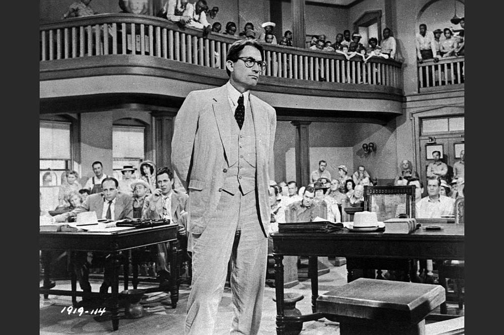 Gregory Peck interpretó a Atticus Finch en la versión cinematográfica de 1962 de