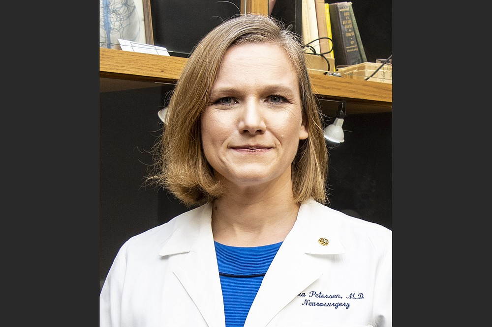 Dr. Erika A. Petersen, UAMS (Democrat-Gazette file photo/Cary Jenkins)