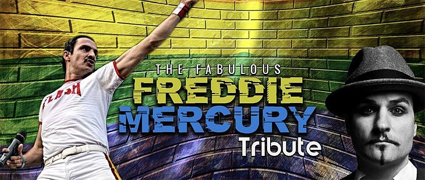 Randall Shreve takes his Freddie Mercury show to Hot Springs on Saturday at the Malco Theater. (Special to the Democrat-Gazette)