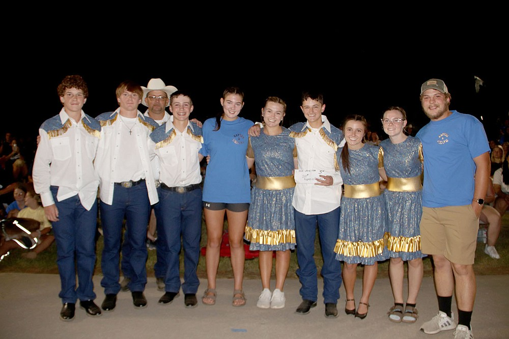 LYNN KUTTER ENTERPRISE-LEADER Ropers and Ribbons won third place with 569 points in the 2021 Peggy Parks Memorial Square Dance Competition at the Clothesline Fair.