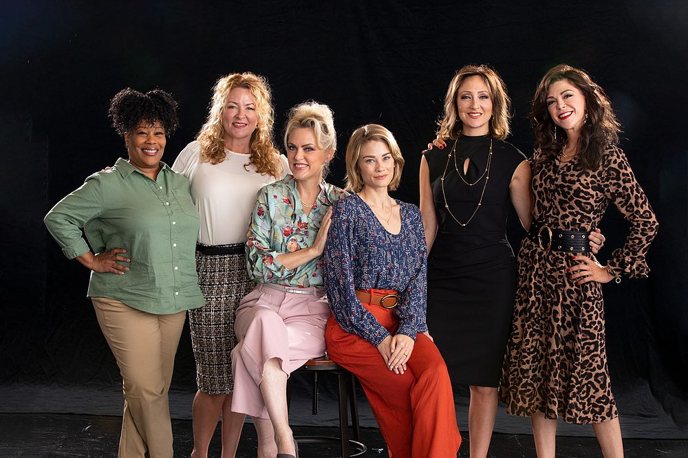 """Audiences can view the new """"Designing Women"""" in two ways: in person, at TheatreSquared, or streaming online.  """"It's a great joy for TheatreSquared to continue its legacy of developing new work with this iconic premiere from Linda Bloodworth-Thomason,"""" says Dexter Singleton, T2 Director of New Play Development. """"This one is particularly exciting because for the first time it gives us the opportunity to bring a well-known television show to the stage, satisfying old fans while creating new ones.""""  (Courtesy Photo/Wesley Hitt for T2)"""