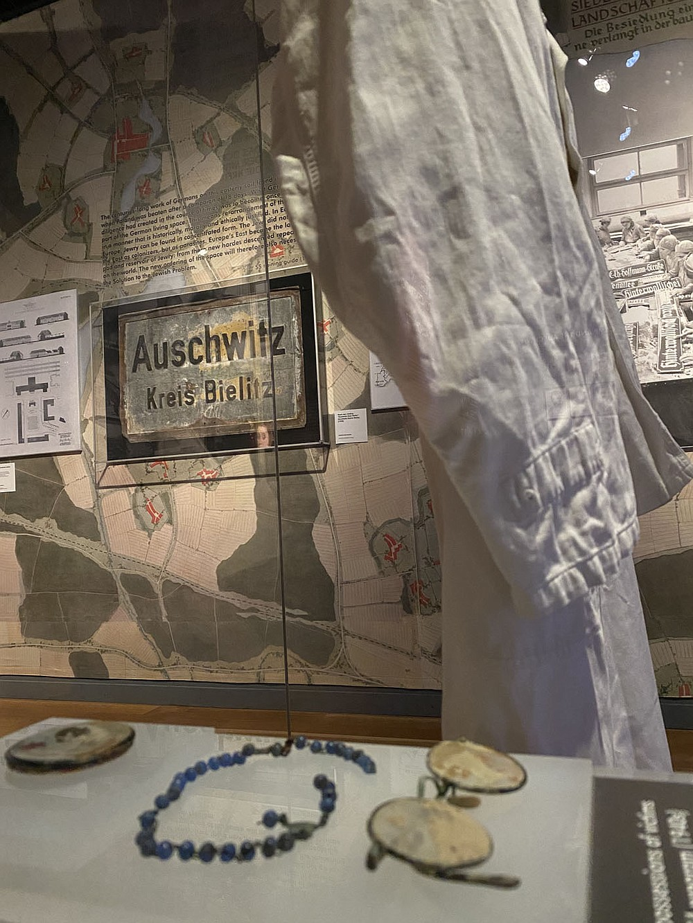 After the German attack on Poland in September 1939, the town of Oświęcim was within the territory annexed directly into the Third Reich. The name of the town was turned into Auschwitz.  (Pawel Sawicki, Auschwitz Memorial)