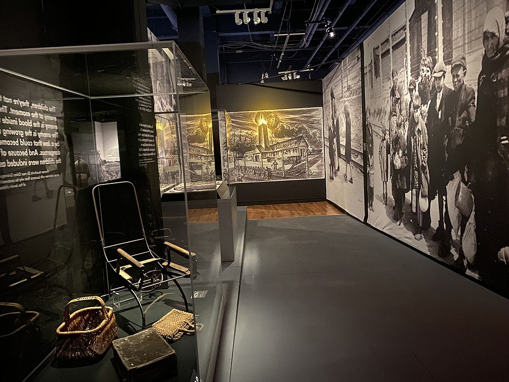 """The Kansas City exhibition of """"Auschwitz. Not long ago. Not far away"""" is the second of two stops in the United States.  (Pawel Sawicki, Auschwitz Memorial)"""