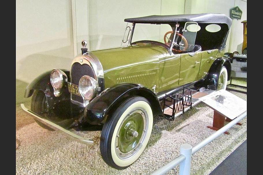 A rare Arkansas-made Climber is a gem at the Museum of Automobiles. (Special to the Democrat-Gazette/Jack Schnedler)