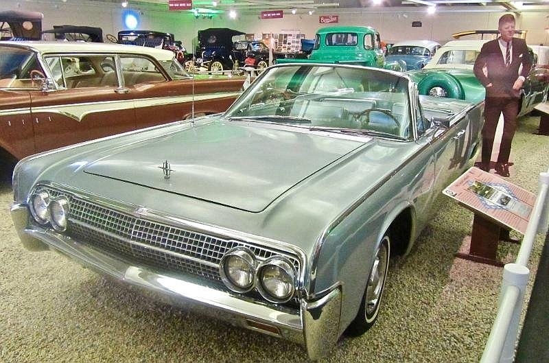 President John F. Kennedy drove this Lincoln Continental while vacationing. (Special to the Democrat-Gazette/Jack Schnedler)