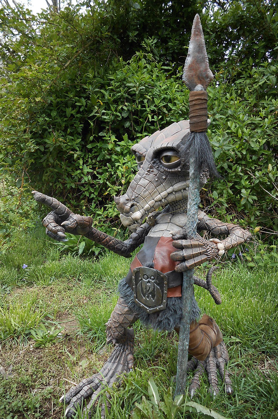 This is not John Burroughs. This is one of the World Myth Museum's newest life-size sculptures, a German Kobold. (Courtesy photo/World Myth Museum)