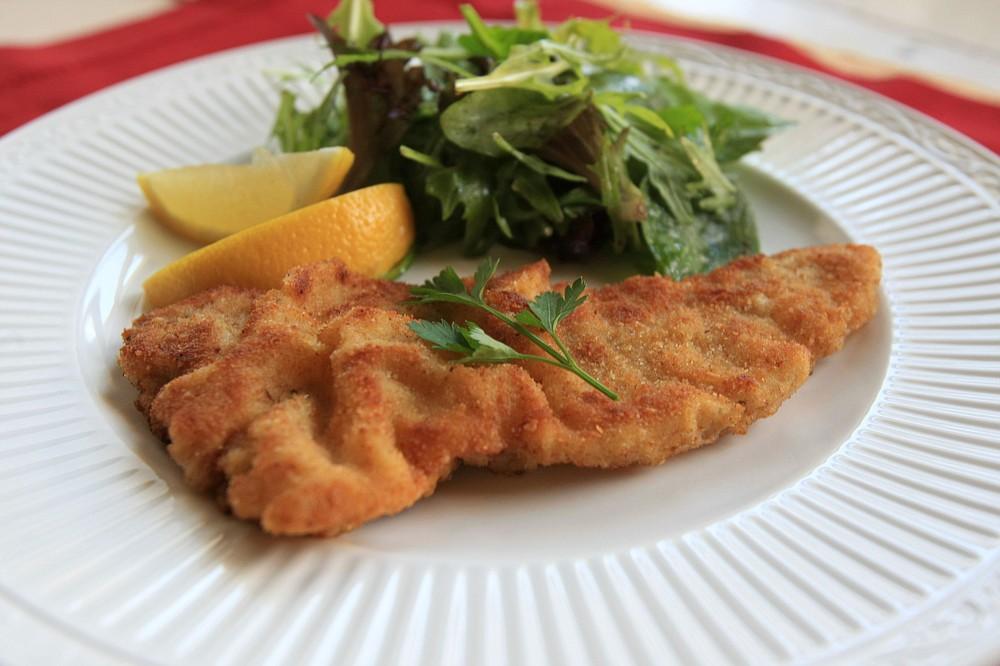 Wienerschnitzel (Veal Schnitzel) (Democrat-Gazette file photo)