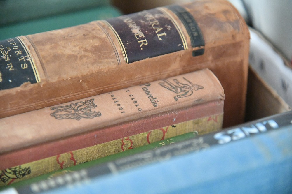 """Books, such as this copy of """"Pinocchio,"""" will be included in the Garland County Library's annual book sale. - Photo by Tanner Newton of The Sentinel-Record"""