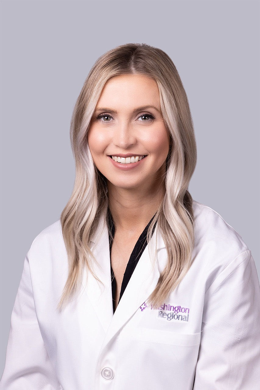 Caitlin Sutherland, APRN, recently joined Washington Regional Cardiovascular and Thoracic Surgery Clinic in Fayetteville.