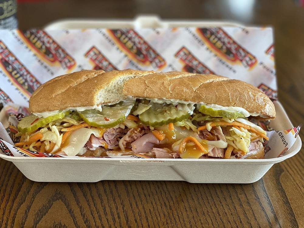 Firehouse Subs is adding a BBQ Cuban Sub to its offerings.  (Special to the Democrat-Gazette)