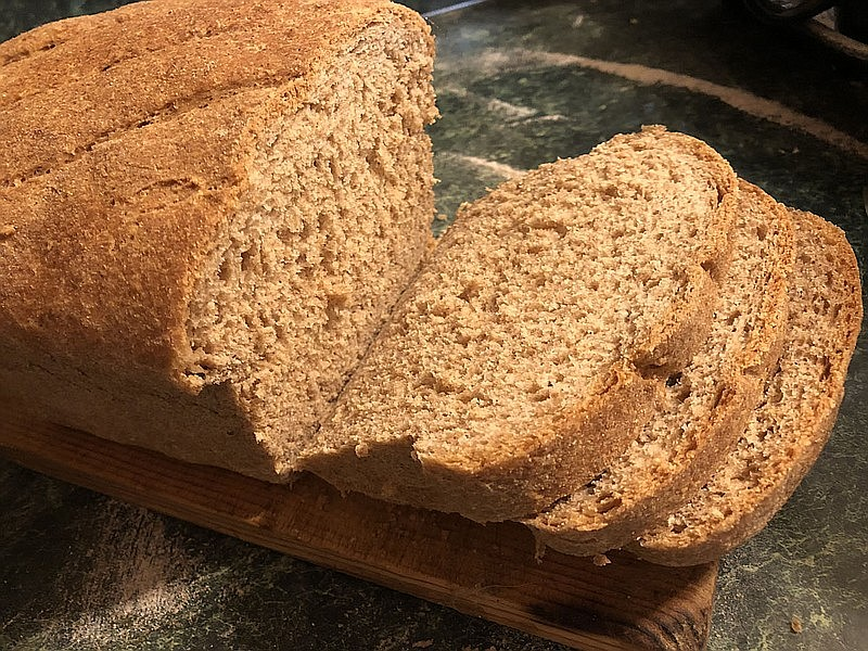 Eden Miller started making whole grain bread long before the pandemic made it trendy. She starts from scratch, with wheat flour, yeast and oatmeal, and no bread machine is involved. (Courtesy photo/Eden Miller)