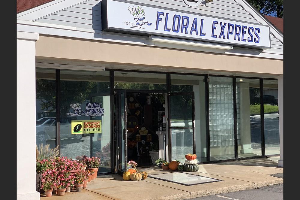 A resurrected Sufficient Grounds opened Monday inside Floral Express, 11601 W. Markham St., Little Rock, just east of Bowman Road. (Arkansas Democrat-Gazette/Eric E. Harrison)